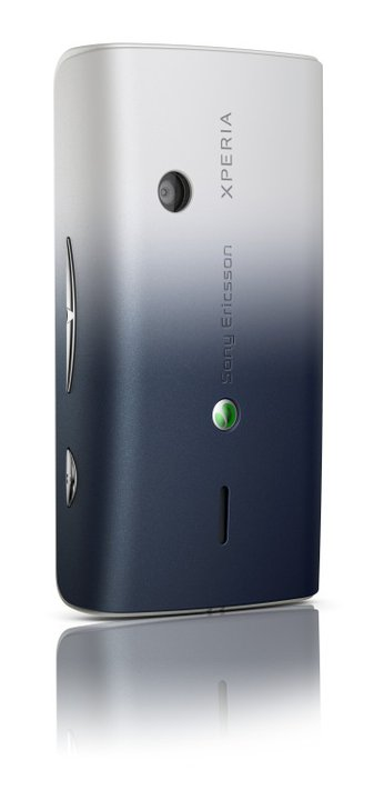 Sony Ericsson Xperia X8 Back Dark Blue (back)