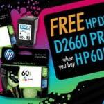 Promos: FREE HP Deskjet D2660 Printer