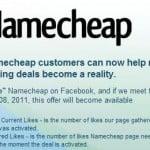 Latest Deals on Namecheap