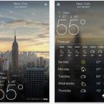 Introducing The Yahoo Weather App for iPhone, iPod and iPod Touch