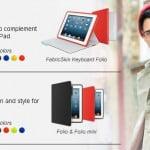 Logitech FabricSkin Keyboard Folio for iPad & iPad mini