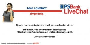 PSBank LiveChat