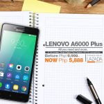 Lenovo A6000 Plus available at Lazada for only Php5,888