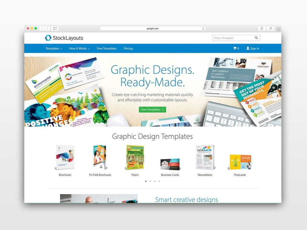 Brochure Templates StockLayouts