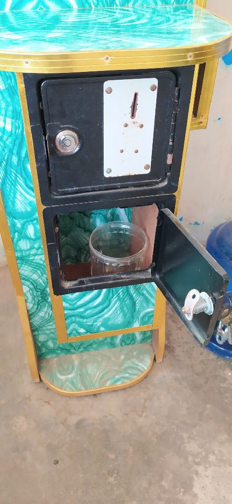 Piso Water Vending Coin Box Area